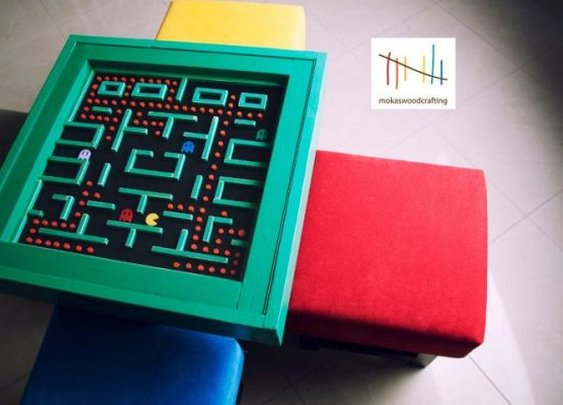 Elegant Pac-Man Table