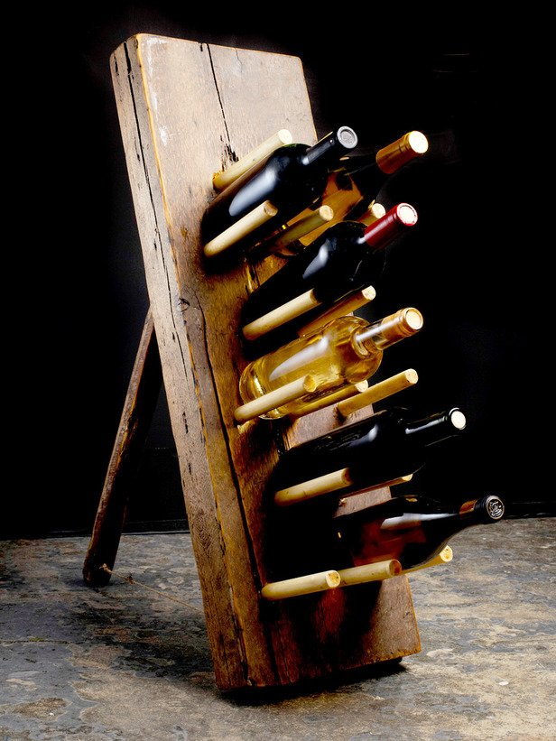 Primitive Wine Rack : Decorating : Home & Garden Television