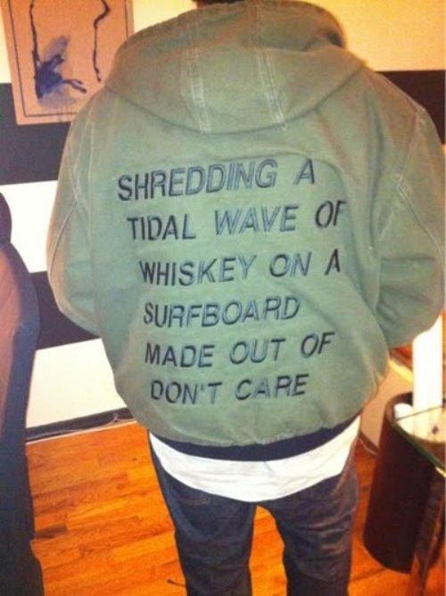 Whiskey Surfing