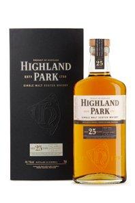 25 Yr Highland Park Scotch.