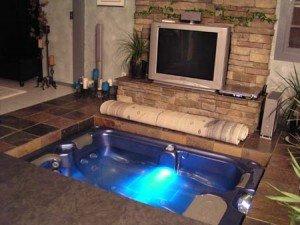 Hidden Hot Tub in Floor