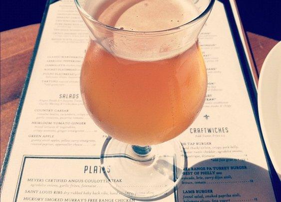 Grapefruit beer