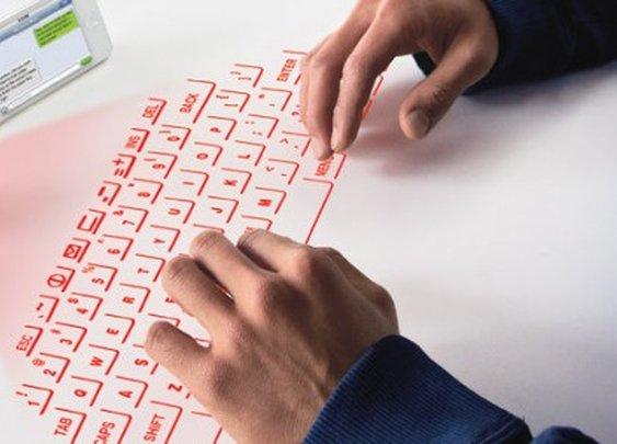 CTX Virtual Keyboard fits on a keychain