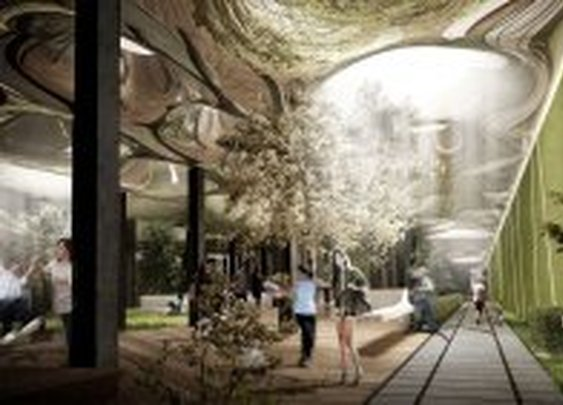 Tunnel Vision: Subterranean Park to Stay Sunny with Fiber-Optic Skylights