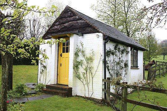 Famous author's writing shacks