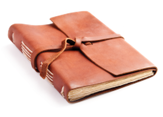 hand-sewn leather journals | Rustico Leather
