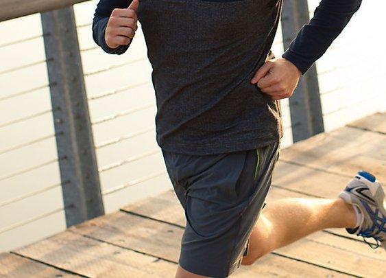 sprint zip | men's running tops | athletica
