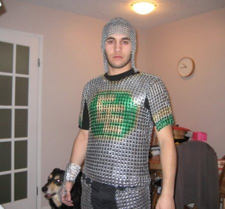 Beer Can Tab Chain Mail