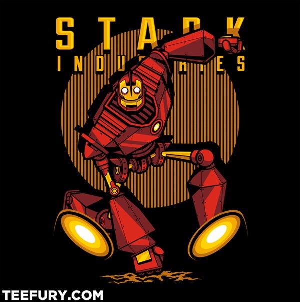 Iron Giant Man T-Shirt