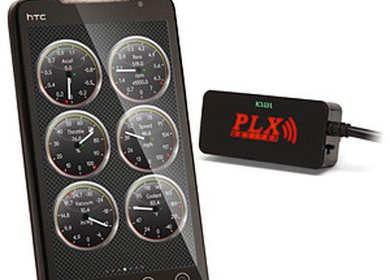 ThinkGeek :: Kiwi Bluetooth Android Phone Car Diagnostic Kit