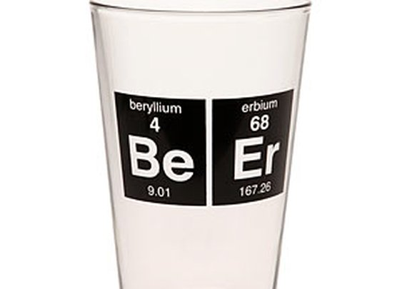 ThinkGeek :: Periodic BeEr Glass