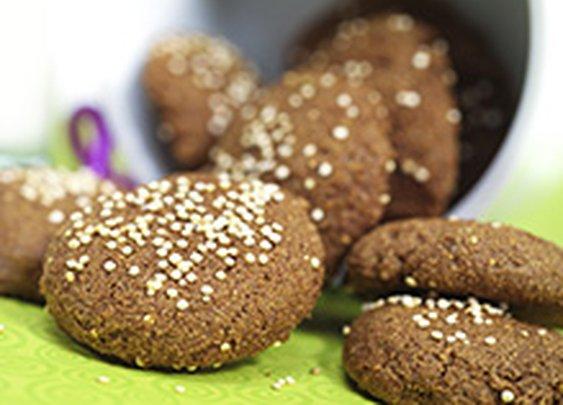 Quinoa Ginger Cookies