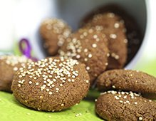 Quinoa Ginger Cookies