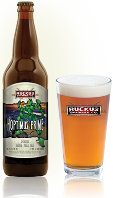 Beers «  Ruckus Brewing