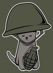War Kitten - Shirt - The Oatmeal