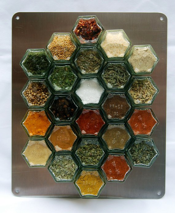 Complete Magnetic Spice Rack EVERYTHING but the by GneissSpice
