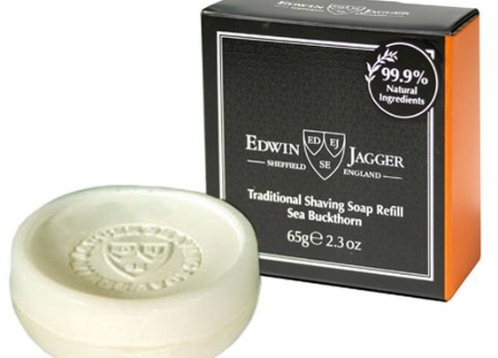 Edwin Jagger Shaving Soap - Sea Buckthorn