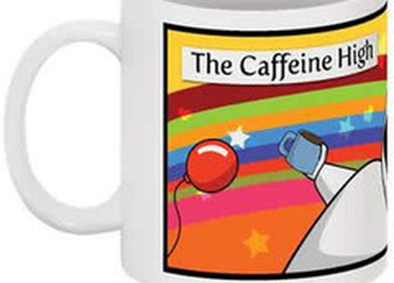 Caffeine High Coffee Cup - The Oatmeal