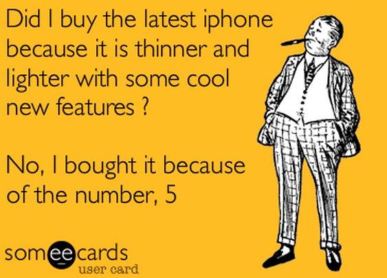 You know it's true, guys - hehe.