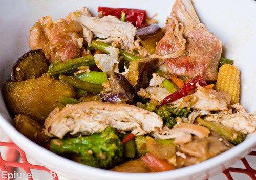 The Epicurean Bodybuilder • Stir Fried General Tso's Chicken