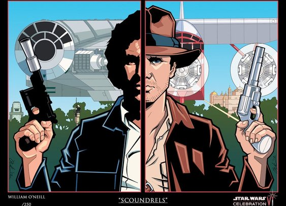 """Scoundrels""- Harrison Ford"