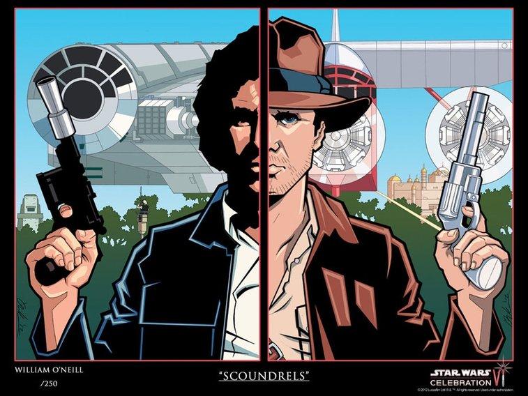 """""""Scoundrels""""- Harrison Ford"""