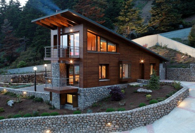 Five Houses on Mount Parnassus by RK Architecture