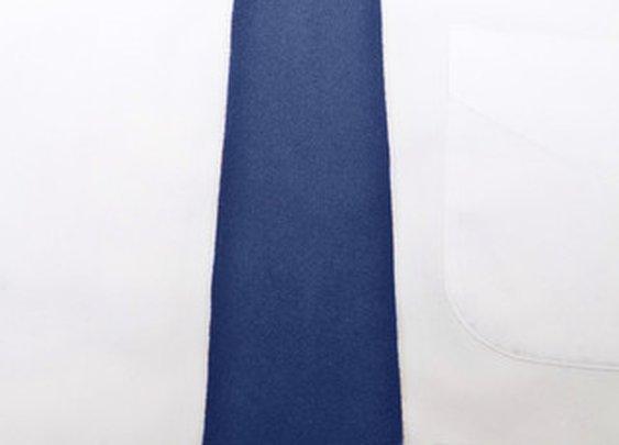 Cobalt 100% Felted Wool Long Tie