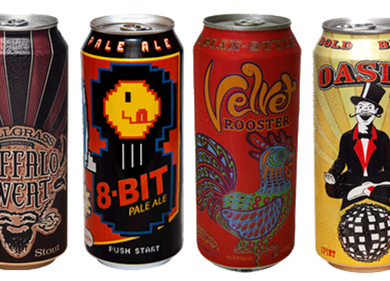4 MORE Breweries That Are Making Gorgeous Cans | Beer Art Blog | Hoppy Press