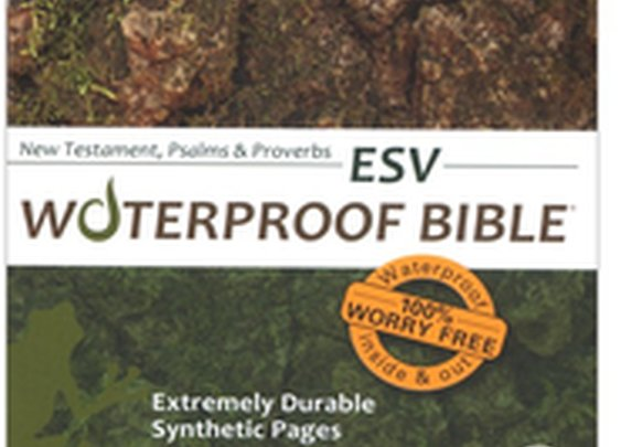 Waterproof Bible, Camouflage:  Great for Hunters