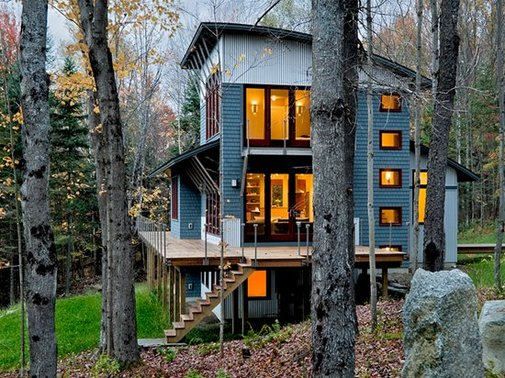 Weekend House in New Hampshire