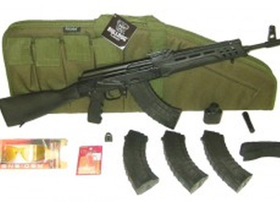 Russian Saiga 7.62x39 AK-47 Variation Rifle  w/ Special Promo Shooters Package - Long Guns
