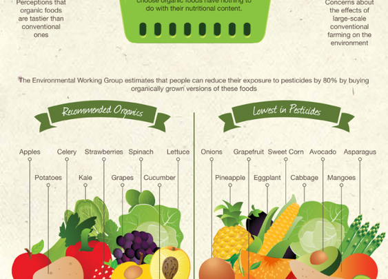 Are organic foods healthier? Recent Stanford study confirms we are doomed as a species [Infographic]