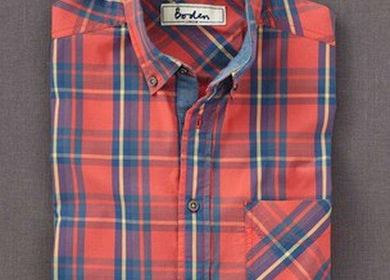 Boden Checked Shirt MA384