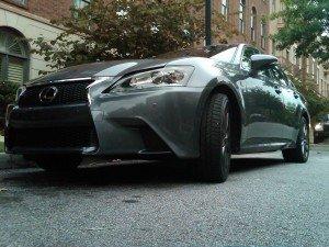 2013 Lexus GS 350 F SPORT: not available in beige (figuratively speaking)