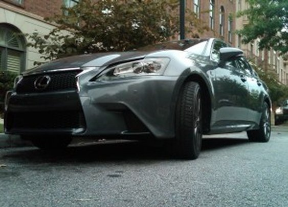 2013 Lexus GS 350 F SPORT: not available in beige (figuratively speaking)
