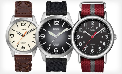 Timex Weekender Watches for Men and Women Deal of the Day | Groupon Abilene, TX