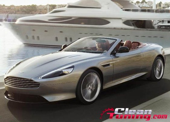 Aston Martin Reveals Upgraded 2013 DB9   CleanTuning.com