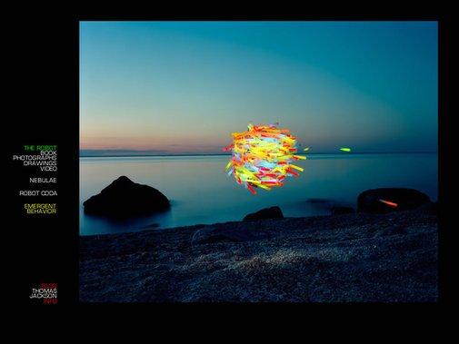 Swarm of Glowsticks
