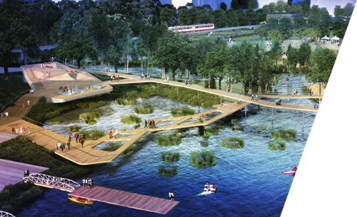 The Waller Creek Conservancy Design Competition Final Four