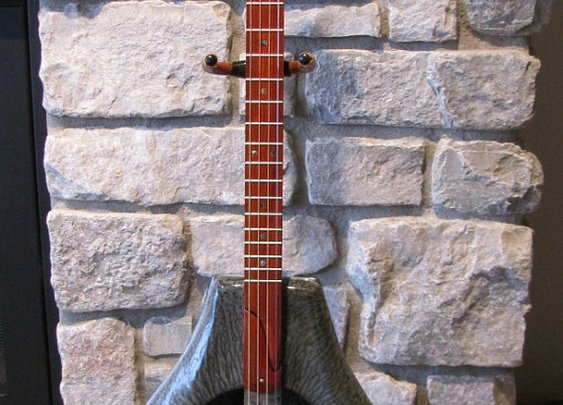 Bed Pan Guitar  4 String by BarefootBoogieGuitar on Etsy