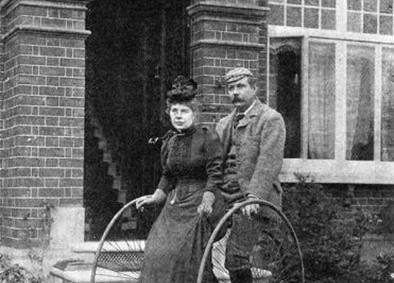 Manly Man Sir Arthur Conan Doyle and Wife