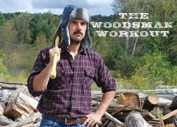 The Woodsman Workout | The Art of Manliness - Gentlemint