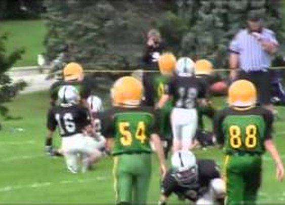Youth Football Highlight Of The Week: Ill TD Run By 8-Year-Old! - YouTube