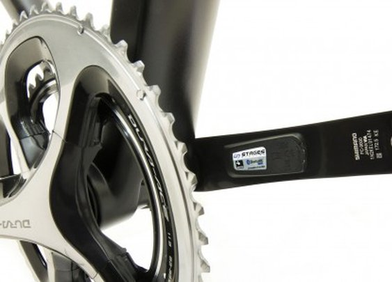StageONE cycling power meter comes pre-installed on crank arm