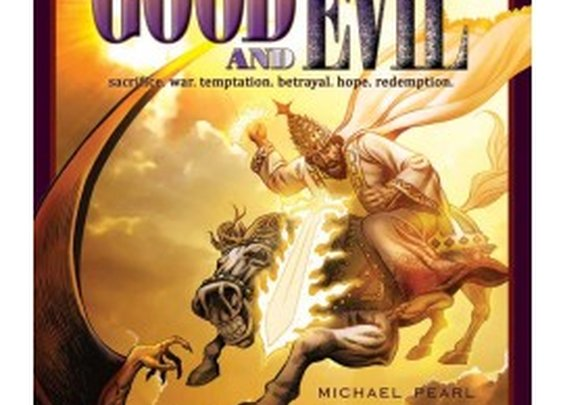 Good and Evil; Sacrifice. War. Temptation. Betrayal. Hope. Redemption