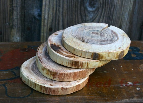 Petaluma Supply Co. - Wooden Coasters