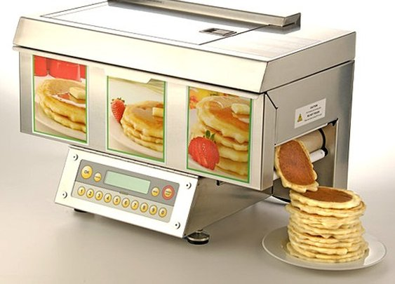 Push button, get pancakes. Automatic pancake maker