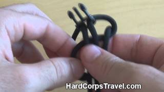 How to Make a Paracord Bracelet with Buckles (Cobra Braid) - YouTube