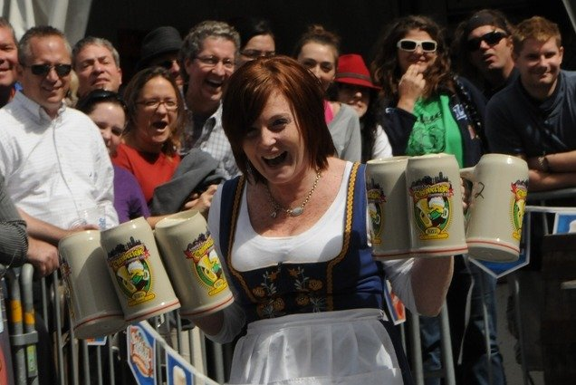 Raise a glass (or beer mug) to the Oktoberfest tradition